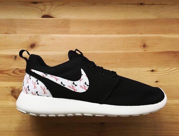 purchase cheap 2eb61 6896d Joker Why So Serious Custom Nike Roshe Run Sneakers