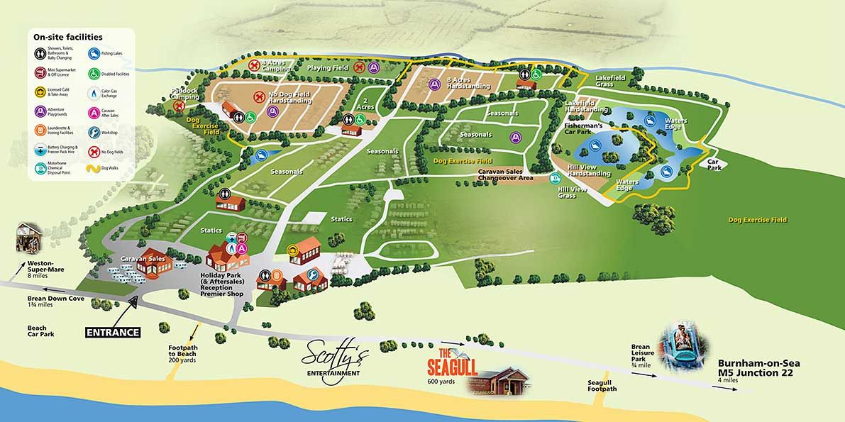 Map of Heritage Park Map