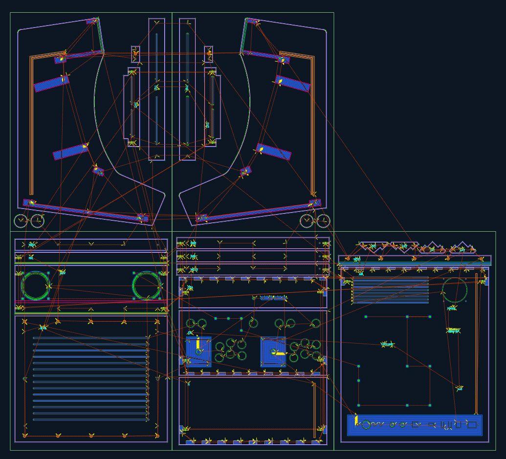 sc nario de d coupe sous cambam des panneaux bois pour le kit borne d 39 arcade bartop 2 joueurs. Black Bedroom Furniture Sets. Home Design Ideas