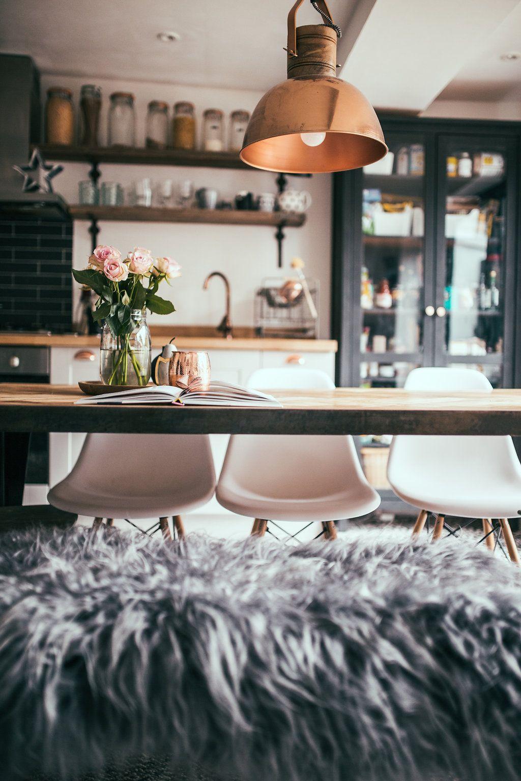 copper pendant lights   Interior design blogs, Innenarchitektur