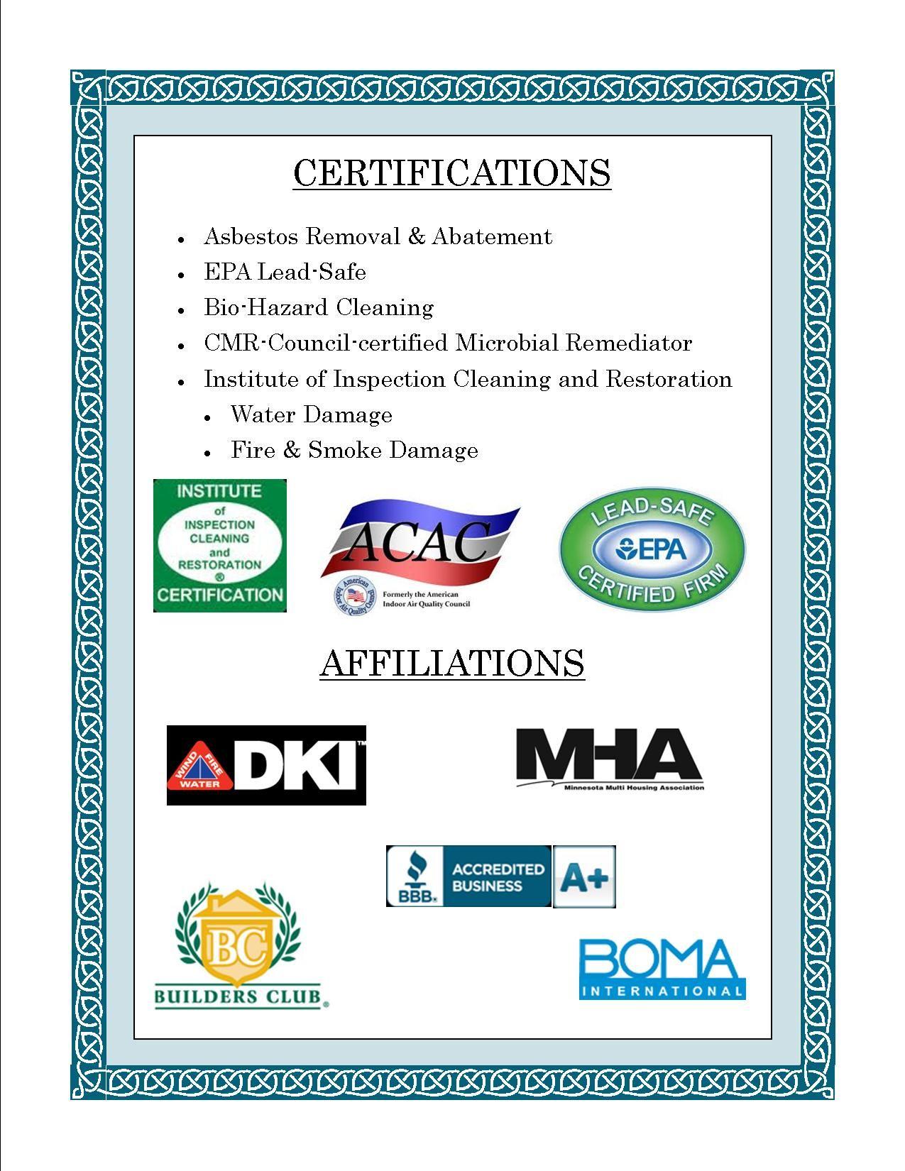 26+ Asbestos certification
