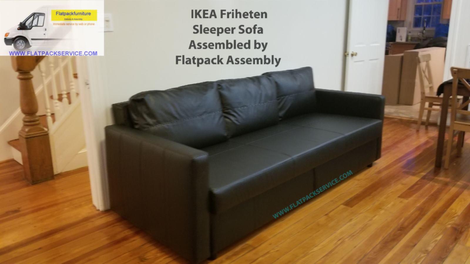 Ikea Friheten Sleeper Sofa Bed Assembly In Washington Dc Md Va 202 277 5911 Furniture Assembly Ikea Furniture Assembly Ikea Ektorp Sofa