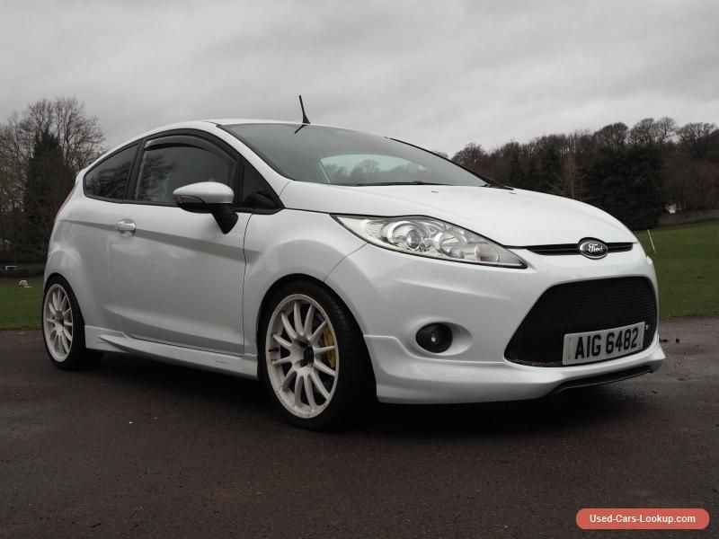 Car For Sale Ford Fiesta Zetec S 2009 Frozen White Mountune Modified