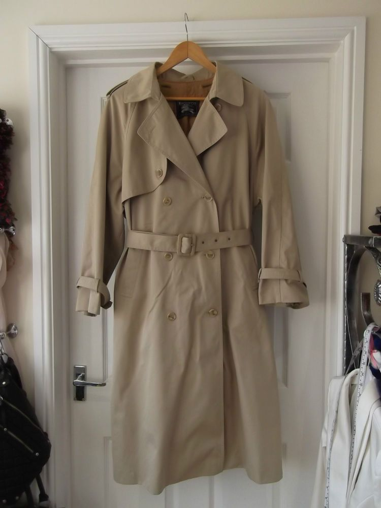 1b3199834c25f Men s Size Large Vintage Dannimac Stone Trench Coat with Burberry s Lining  £39.99 (1B)