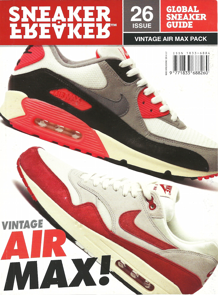 6b0b3b06860 Sneaker Freaker Magazine Issue   26 Vintage Air Max Pack