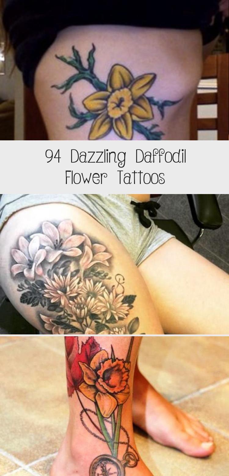 94 Dazzling Daffodil Flower Tattoos - Tattoos