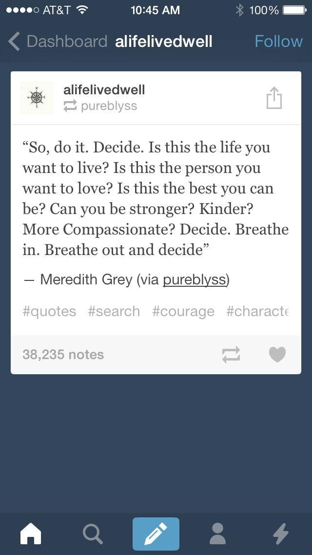 I <3 Grey\'s anatomy | Greys | Pinterest | Frases motivacionales ...