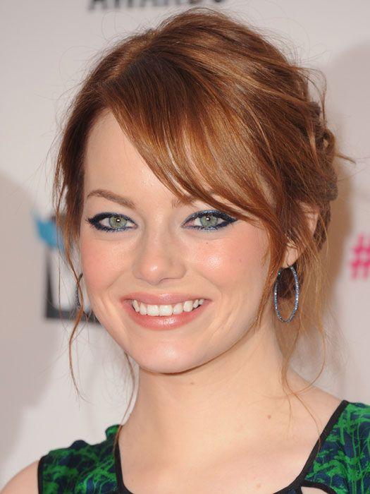 best hair color for your skin tone navy eyeliner celebrity hair colors ...