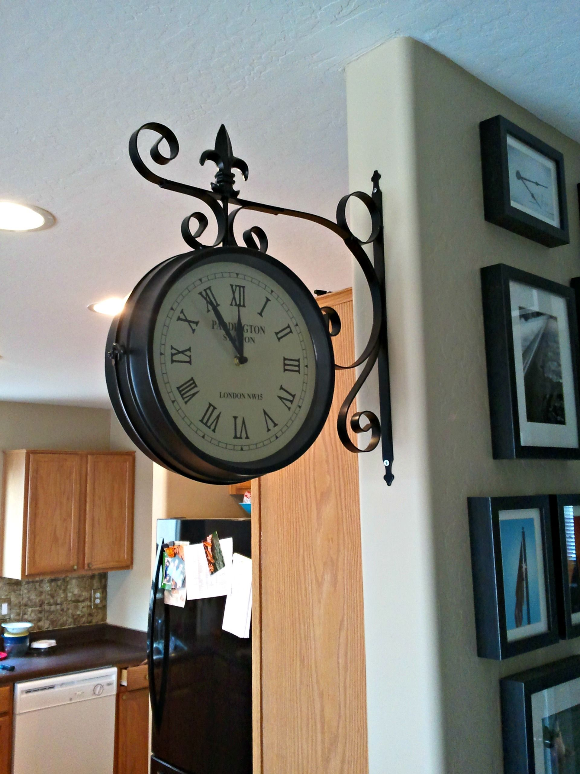 Kitchen Railway Station Clock Diy KitchenKitchen IdeasBedroom DesignsInterior