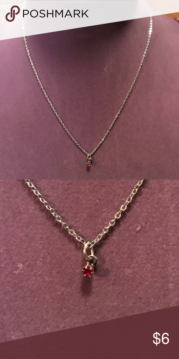 afad11366cce78 2/$10 jewelry. Little ruby necklace Little ruby necklace. 2 for $10 jewelry