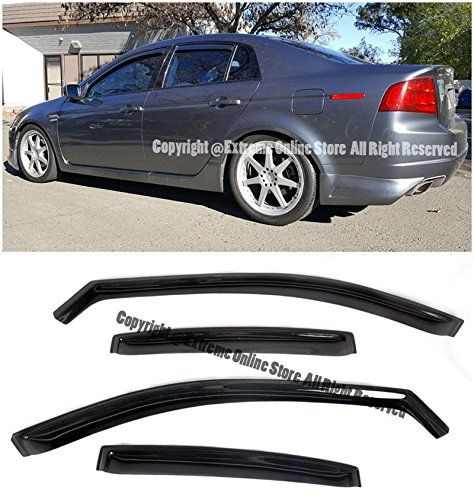 Amazon.com: For 04-08 Acura TL IN-CHANNEL Style Smoke