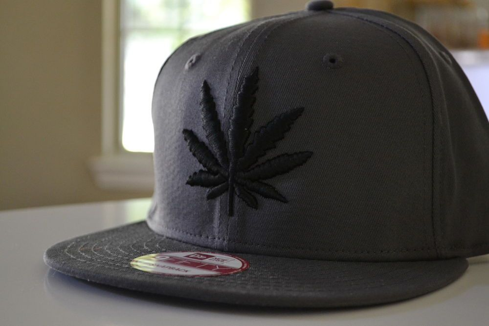New Era Custom RARE 420 Marijuana Huf Weed Leaf Dope Dank Hat Cap Snapback New