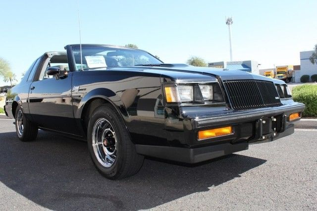 1987 Buick Grand National T-top | 80s cars for sale | Pinterest ...
