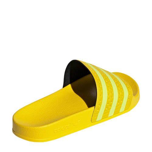 adidas Originals adilette badslippers geel - Adidas ...