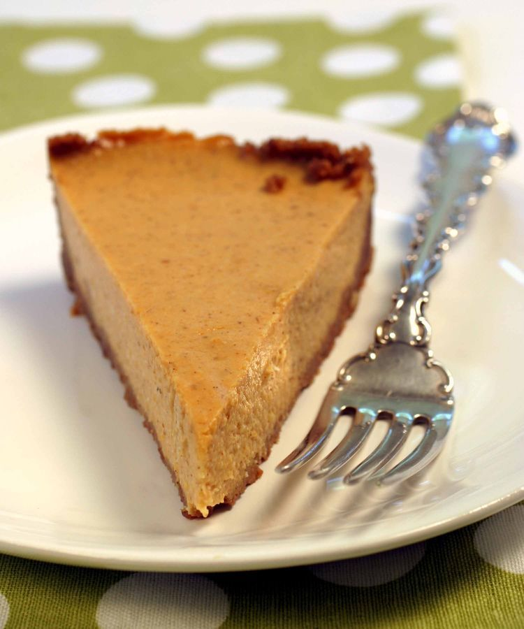 Don't Wait for Thanksgiving To Come To Try This Vegan Pumpkin Cheesecake