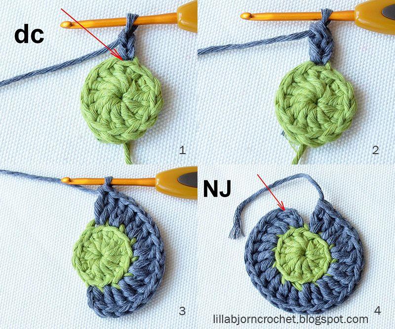 Circles of the Sun Mystery CAL 2015 - overlay crochet - Block 2 ...