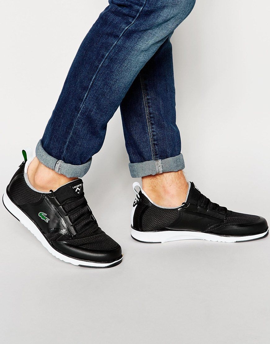 lacoste light runner trainers - 61% OFF