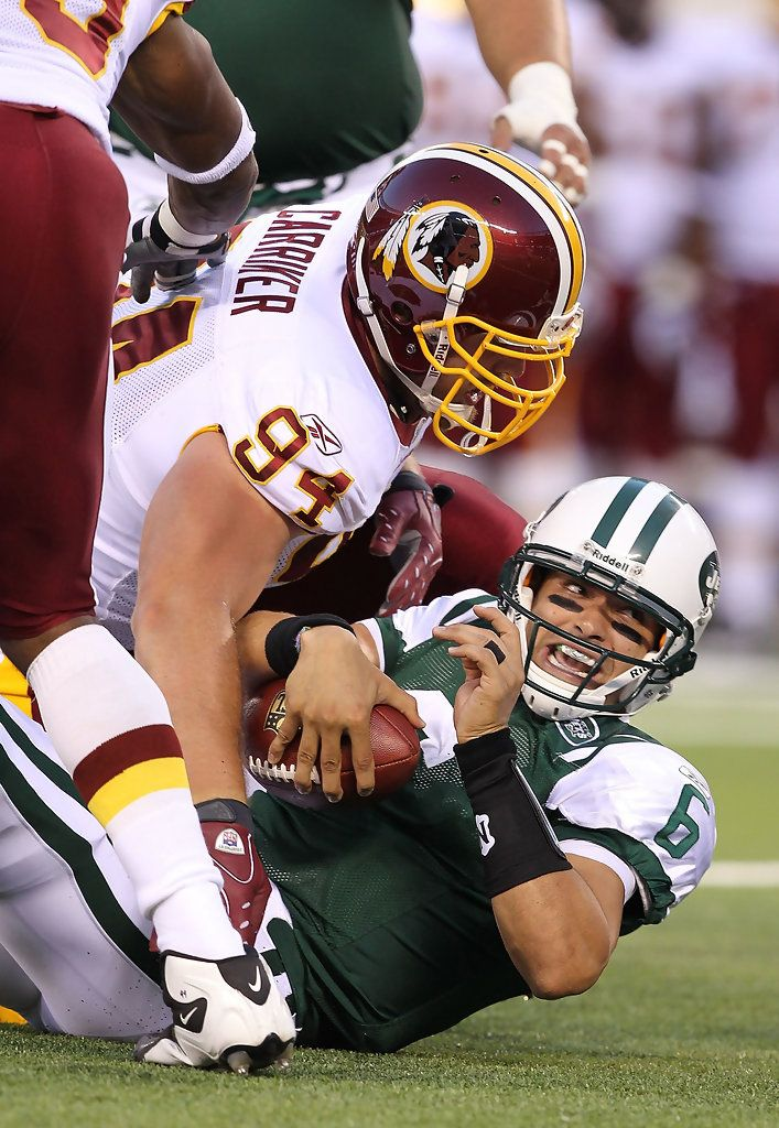 6c99bf1d5 Adam Carriker Photos Photos  Washington Redskins v New York Jets ...