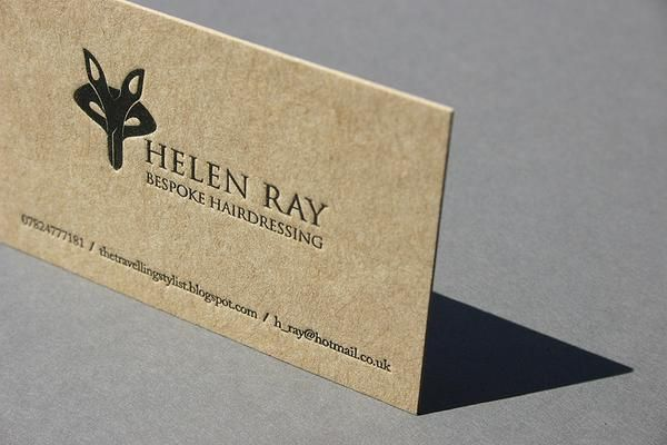 Helen ray business card on recycled paper unique business card helen ray business card on recycled paper colourmoves