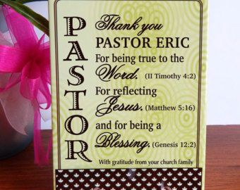 Gift For Priest Pastor Appreciation Day Custom Birthday DeaconPastoral Anniversary Reverend