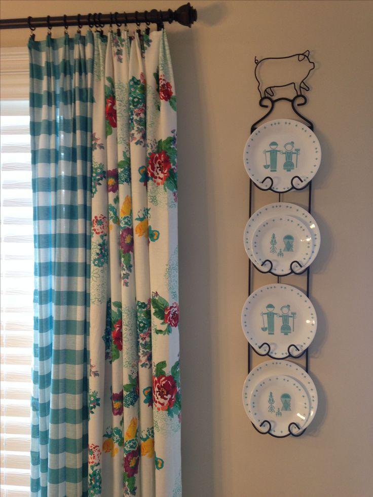 Pioneer Woman Kitchen Curtains Using Tablecloths Antik Mutfak