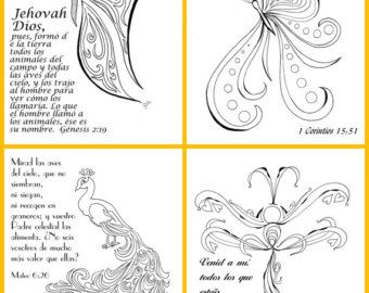olive tree coloring page digital download psalm 528