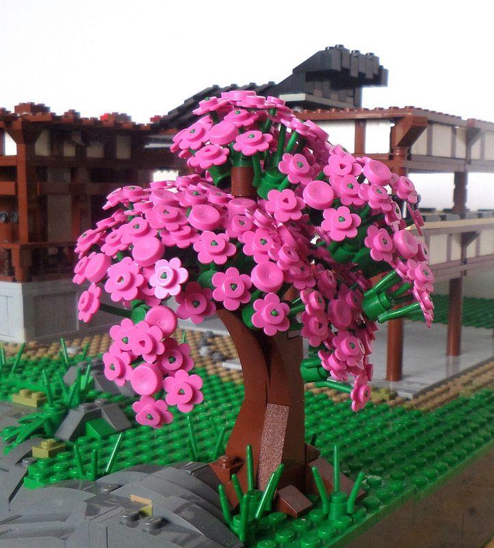 Sakura Lego Tree Lego Flower Lego Creations
