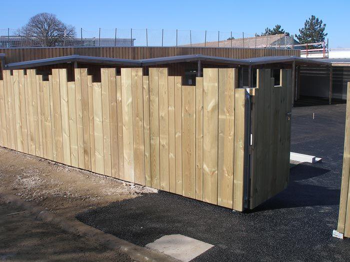 Jardin clôture bois verdilignes Clôtures bois Pinterest Fences - palissade en pvc jardin