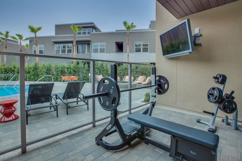 Outdoor Workout Space At Lincoln Place Apartment Homes Outdoor Workout Space Workout Space Places