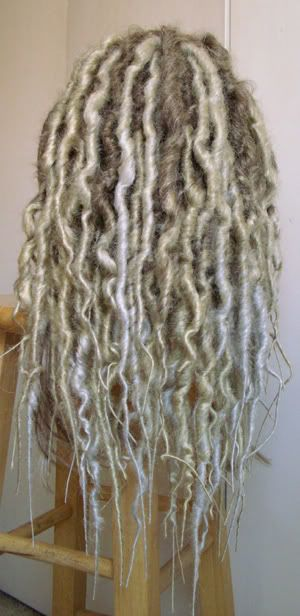 how to make fake dreads wig