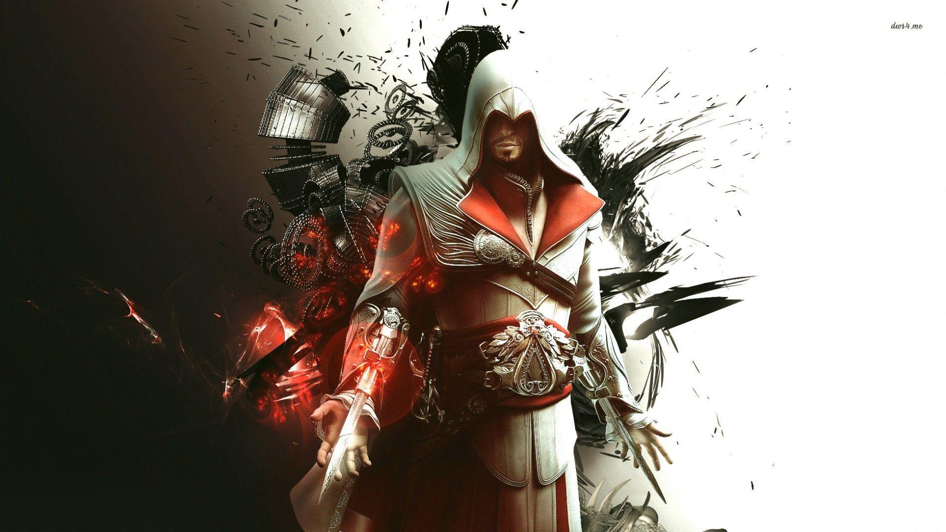 Ezio Assassin S Creed Brotherhood Hd Wallpaper Assassin S Creed Brotherhood Assassins Creed Assassin S Creed Wallpaper