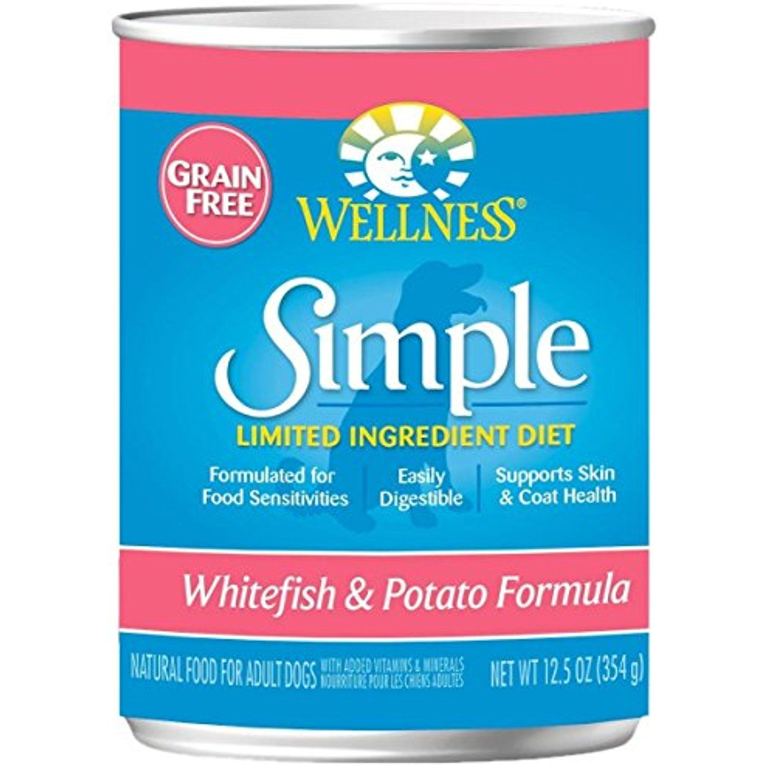 Wellness Simple Whitefish Potato Formula 12 X 12 5 Oz You Can See This Great Product This Is An Affiliat Canned Dog Food Dog Food Recipes Wet Dog Food