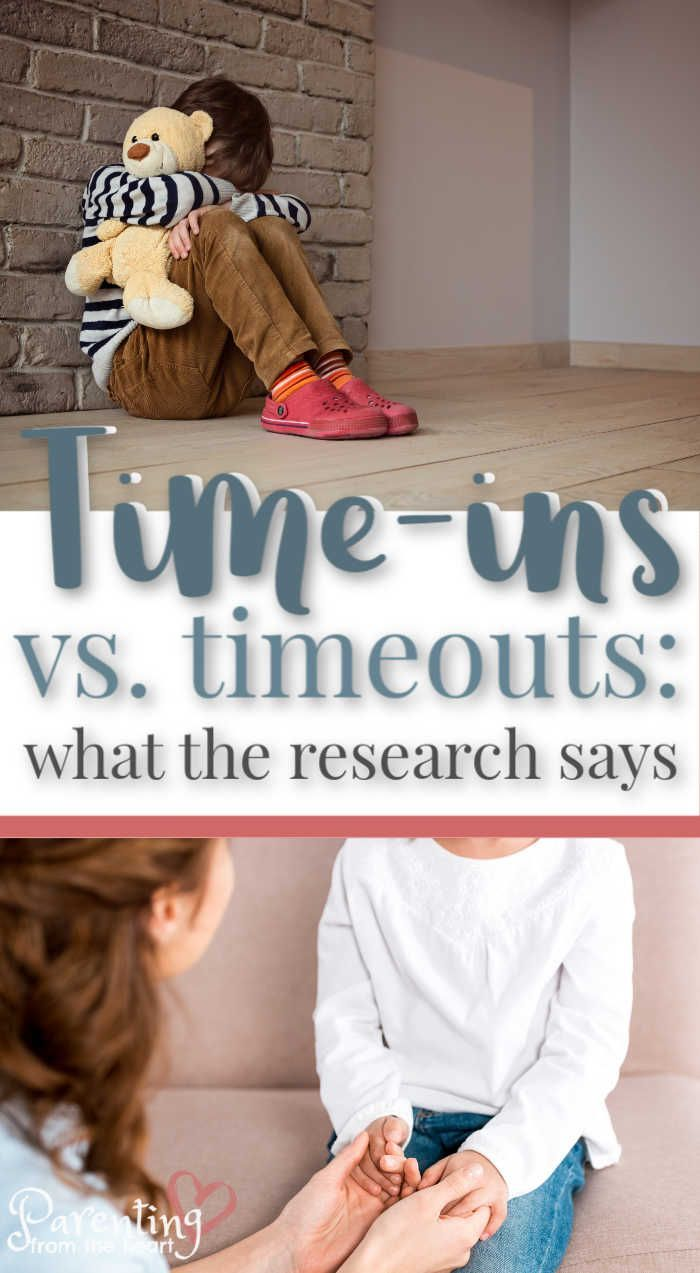 Pop psychology is littered with information on the consequences of timeouts and why parents should use time-ins instead. Parenting from the Heart shares the truth, and it isn't as cut and dry as you may think. Inside you will find info on positive discipline including time-ins as well as what research says about both disciplinary techniques. #positiveparenting #parenting #parentingfromtheheart #parentingadvice #motherhood
