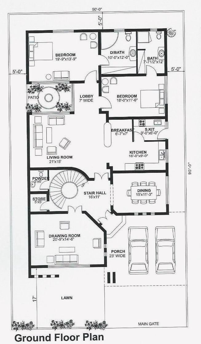 18 Design My House Floor Plan Single Storey House Plans Little House Plans My House Plans