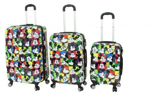 bc91bb210b8 Mickey Mouse luggage.