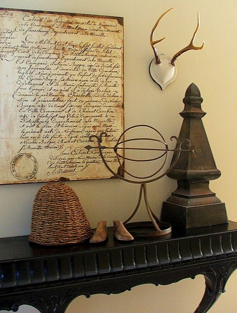 make your own vintage document wall plaque tutorial.  Ballard designs knock off.