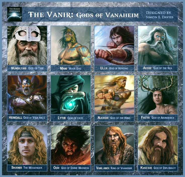 meet the gods and goddesses of norse pantheon