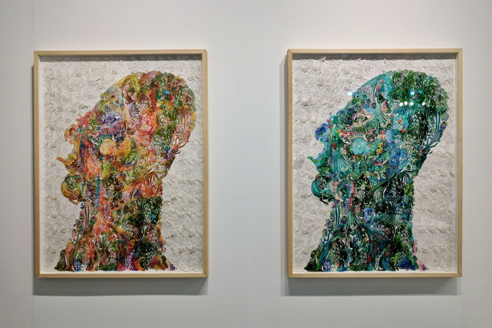 Miami Art Week 2016: Masked + Distorted Faces - Cool Hunting