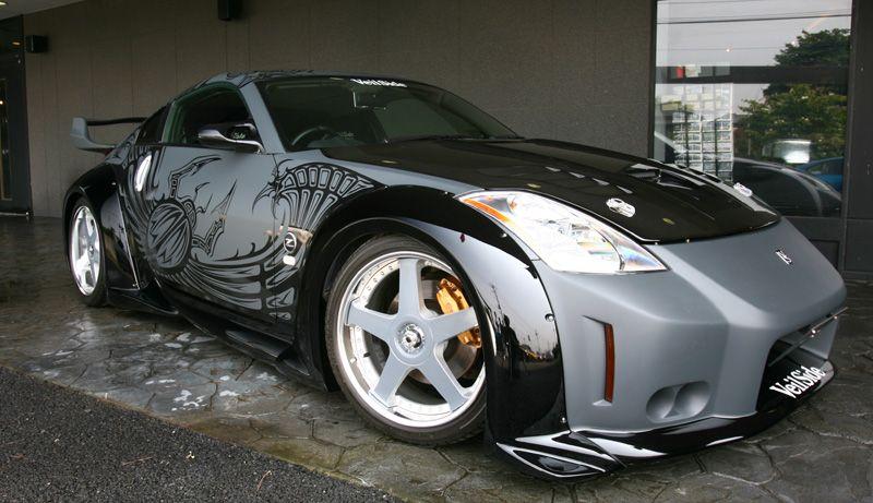 nissan 350z veilside bodykit seen on ''tokyo drift'' movie | cars