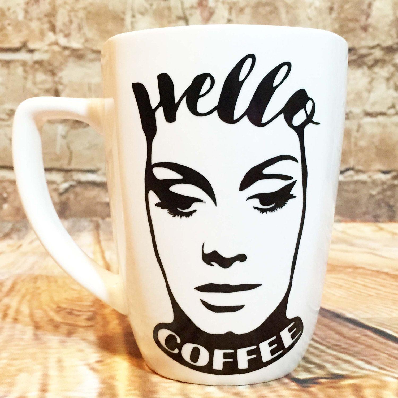 """Adele """"Hello"""" Inspired Custom Coffee Mug by BabyRozen on"""