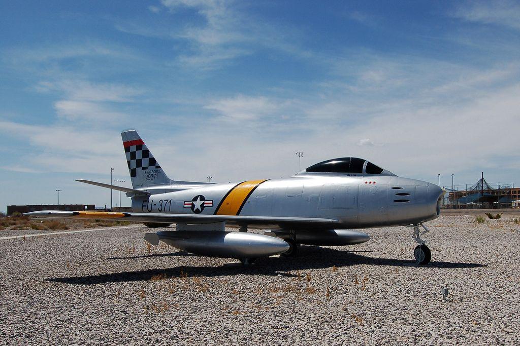 F86 Sabre, U.S. Air Force (29371), Nevada, Fallon Naval