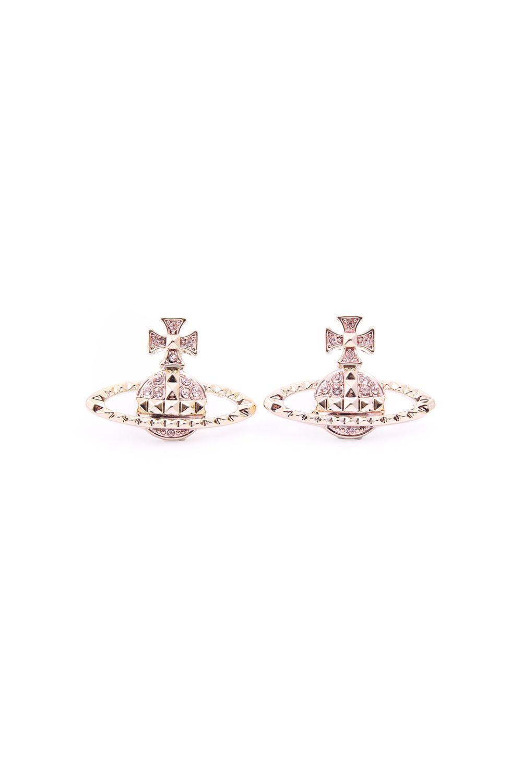 Vivienne Westwood Earrings for Women, Silver, Stainless Steel, 2017, One Size