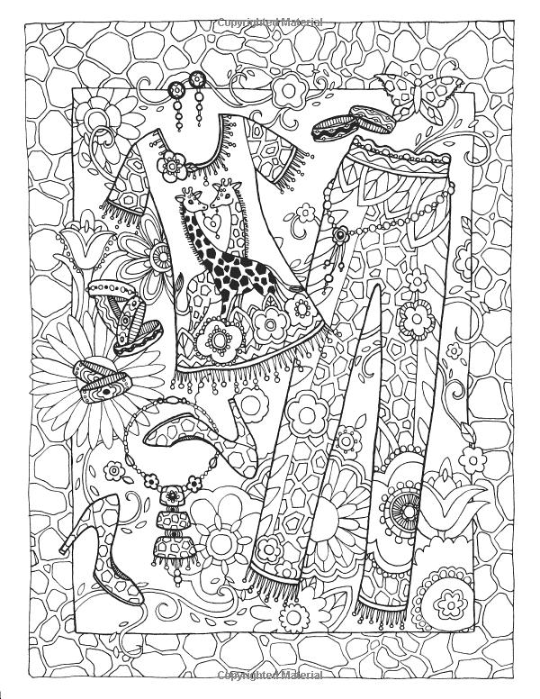 Fanciful Fashions Coloring Book Amazon De Marjorie Sarnat Fremdsprachige Bucher Malbuch Vorlagen Kostenlose Ausmalbilder Malvorlagen