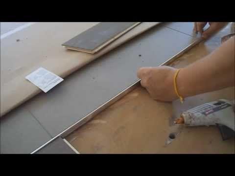 Carpet stone strip transition makes pussy