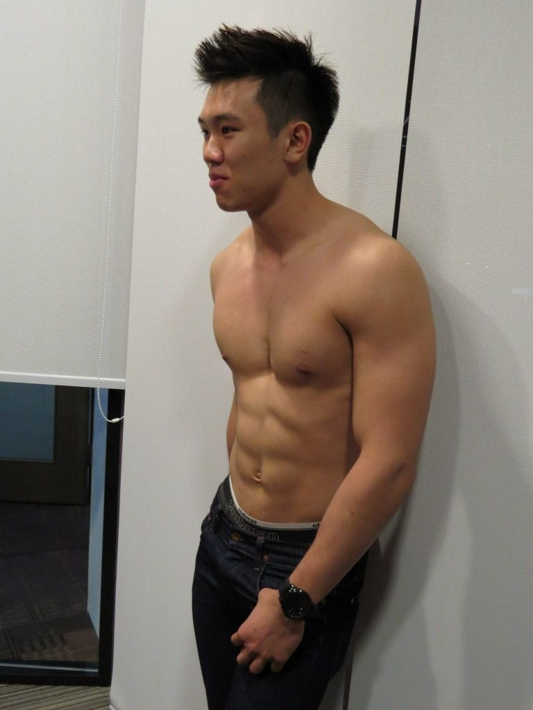 Asian male eyecandy