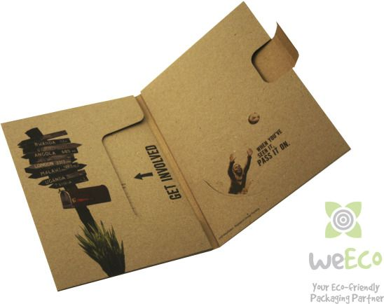 Eco-friendly DVD Packaging - DVD WowWallet - Environmentally ...
