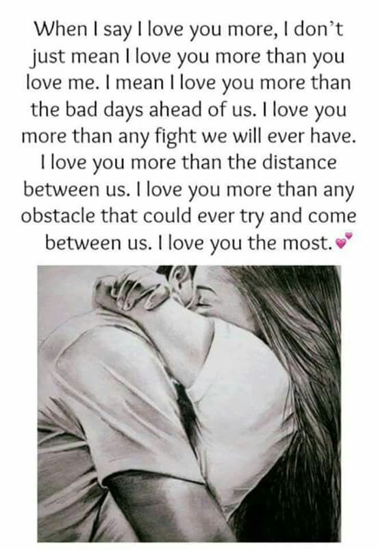 Love You More Than Anything Meme in 2020   Love you more