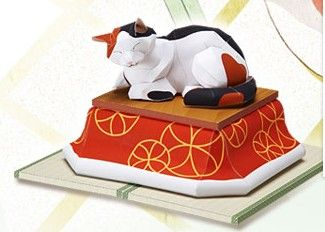 pretty kitty paper craft #FLVS #paper #cat