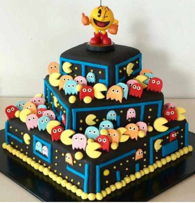 Pac Man Cake, Cakes For Men, Cake