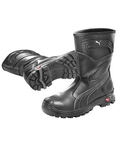 Rugged Blue Pioneer Logger Boot